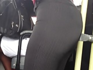 candid ass bus