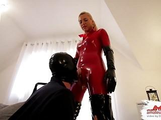 Sklave ramius kg mit spikes chastity keuschhaltung domina 1