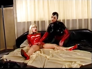 Mistress defending her slaves from attackers 2