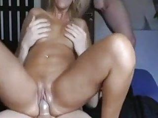 Blonde Milf Threesome Experience