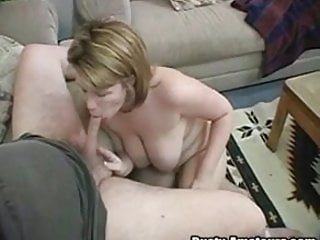 Blonde Lisa knows to suck cock