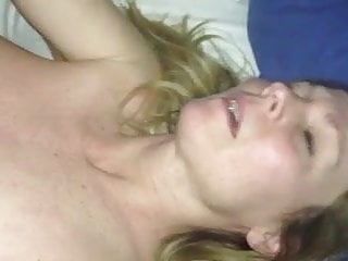Blonde milf orgasm