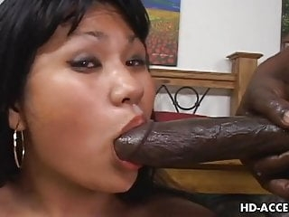 Asian hoe Kyanna Lee interracial sex