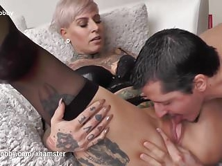 My Dirty Hobby - Tattooed MILF swallows big dick