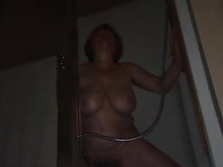 Mom cumming during power outage by MarieRocks age 57